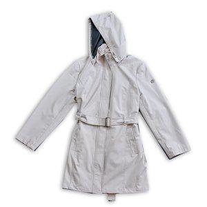 Women's Calvin Klein Oyster Long Rain Jacket